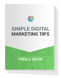 EBook Cover - Simple Digital Marketing Tips
