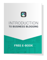 EBOOK Cover - Introduction To Business Blogging