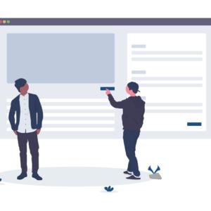 image illustrating usability testing website maintenance